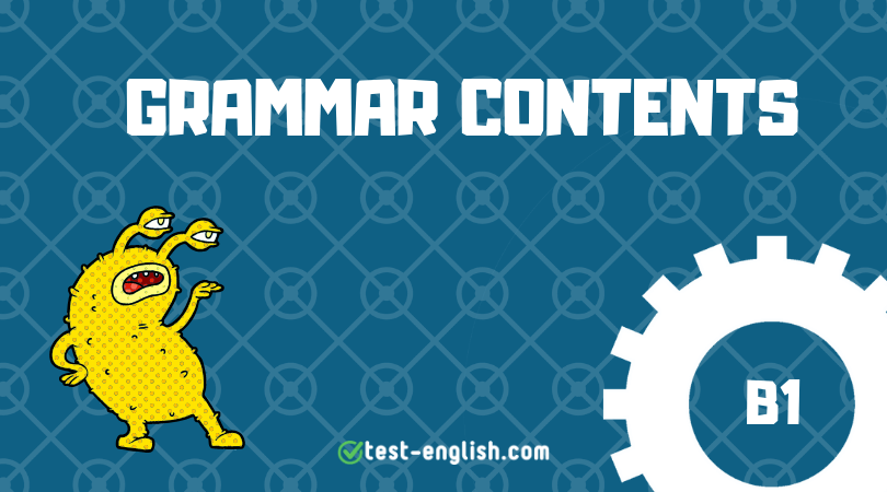 grammar contents b1 list